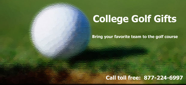 image for College Golf Gifts, Santa holding sign saying 'tis the season'