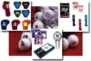 Headcovers, divot tools, towels, balls, and more!